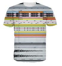 Summer type Ableton Live T-Shirt bed room DJs producers musicians 3d t shirt Women Men Casual tees tops plus dimension S-5XL R2370