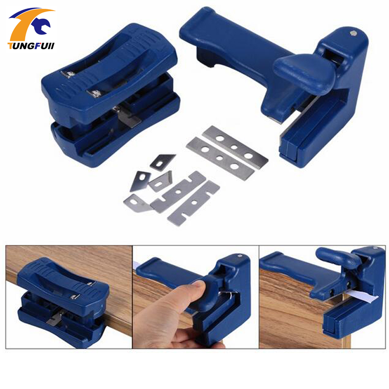 Tungfull Hand Tool Sets Woodworking Manual Edge Banding Machine Tools Planer Edge band PVC straight line trimmer Qi head