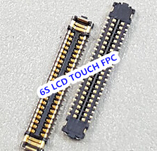 10pcs/lot for iPhone 6S 4.7 J4200 LCD <font><b>display</b></font> touch digitizer FPC <font><b>CONNECTOR</b></font> On Mainboard Motherboard image