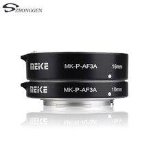 Meike MK P AF3A מאקרו פוקוס האוטומטי הרחבה טבעת AF עבור Panasonic אולימפוס מצלמות ראי
