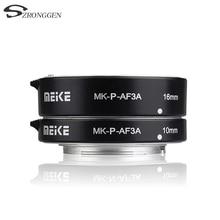 Meike MK P AF3A Macro Autofocus Extension tube Ring AF voor Panasonic Olympus mirrorless cameras