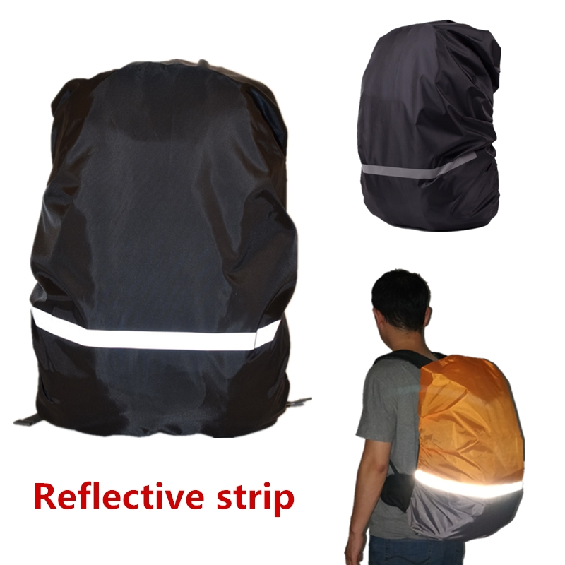 a82e21ef93d4 Backpack Rain Cover 18 70L Reflective Waterproof Bag Cover Outdoor Camping  Travel Rainproof Dustproof Covers For Backpacks New -in Climbing Bags from  Sports ...