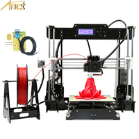 Anet A8 Auto Level 3D Printer Reprap Prusa I3 DIY Kits Automatic Leveling 3D Printer Kit