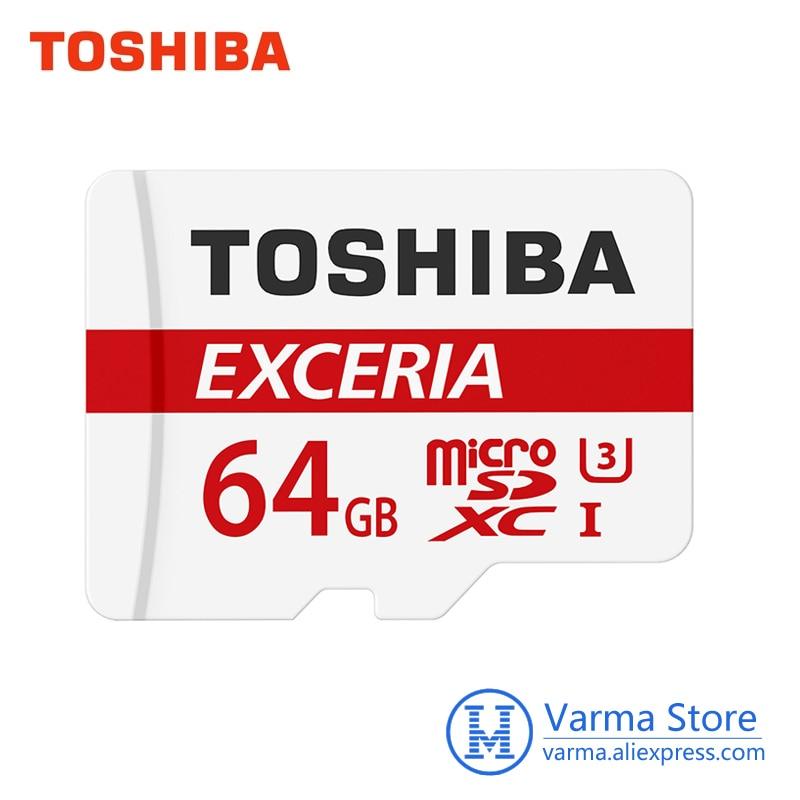 Toshiba Micro sd card Exceria U3 90M/s memory card TF Card UHS-I 64GB U3 Class10 4K UltraHD flash memory card microSDXC