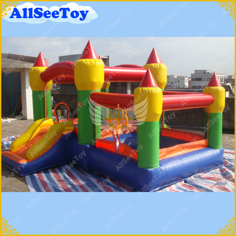 Bounce House Blower : Very nice bouncy castle use commercial bounce house