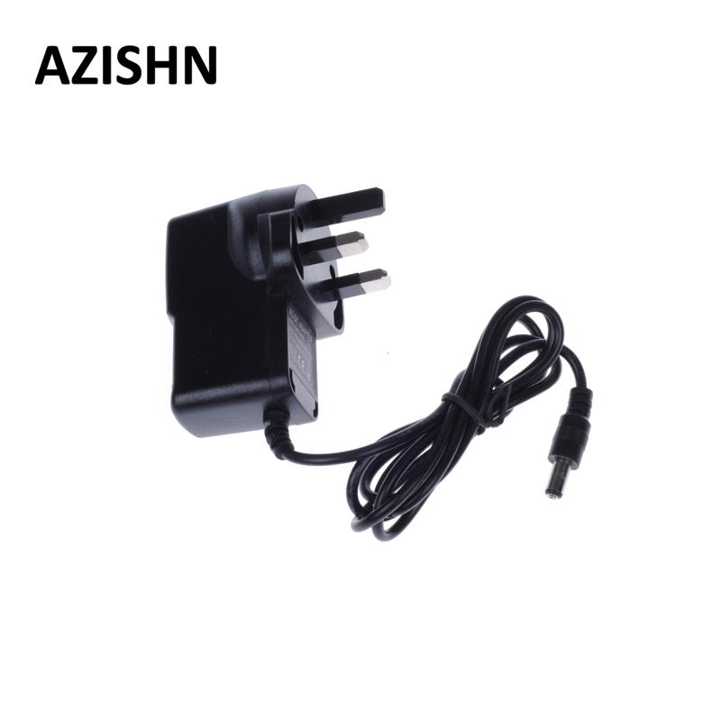 AZISHN AC 100-240V DC 12V 1A UK Plug AC/DC Power adapter charger Power Adapter for UK security CCTV Camera (2.1mm * 5.5mm) набор резьбонарезной трубный stayer professional 28260 h4