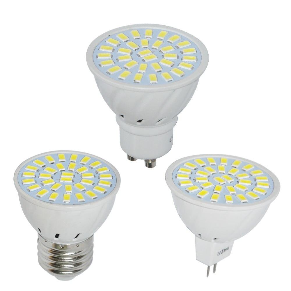 Light Bulbs Jyl 1pcs Brand New Gu10 E27 Mr16 Led 32 Smd Bright Pure White Warm White Home Spotlight Spot Light Bulb Clear And Distinctive Led Bulbs & Tubes