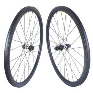 Image 3 - Disc brake clincher road carbon wheels center lock 38mm 45mm 50mm 60mm tubular wheelset 25mm width
