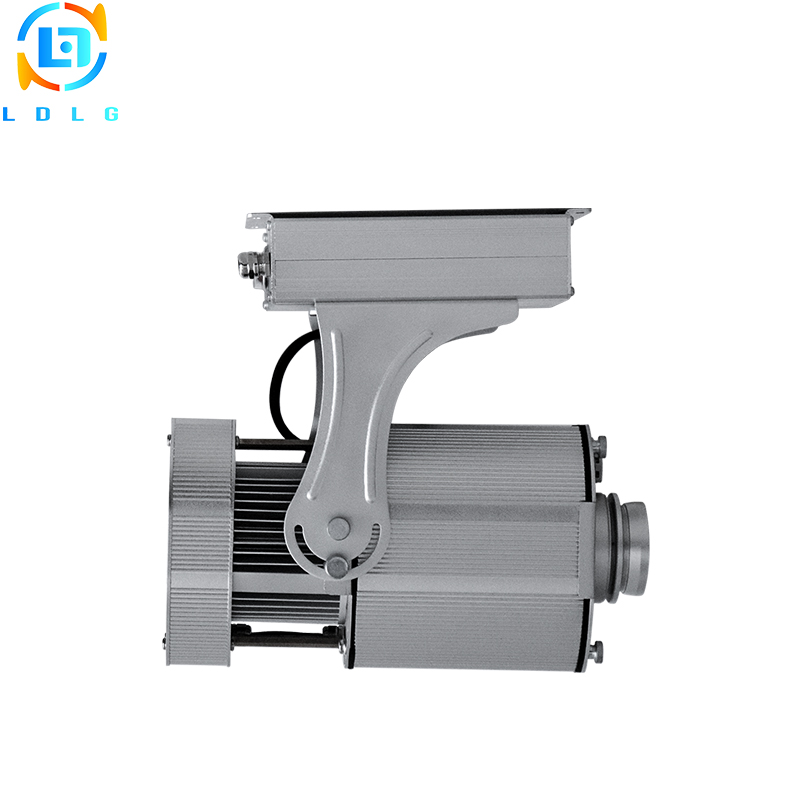 Indoor Advertising Static Image 40W LED Gobo Projector Aluminum Alloy 90 to 240V 4500lm Notwaterproof LED Logo Projection Light|Advertising Lights| |  - title=