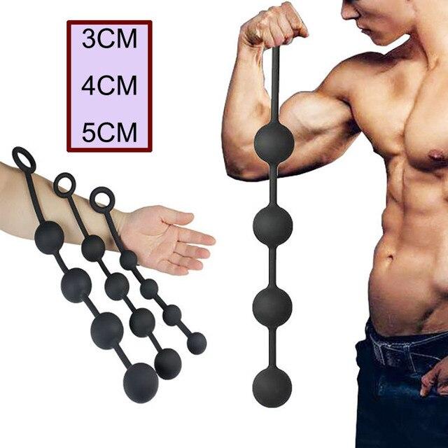 Really. big ass big anal beads