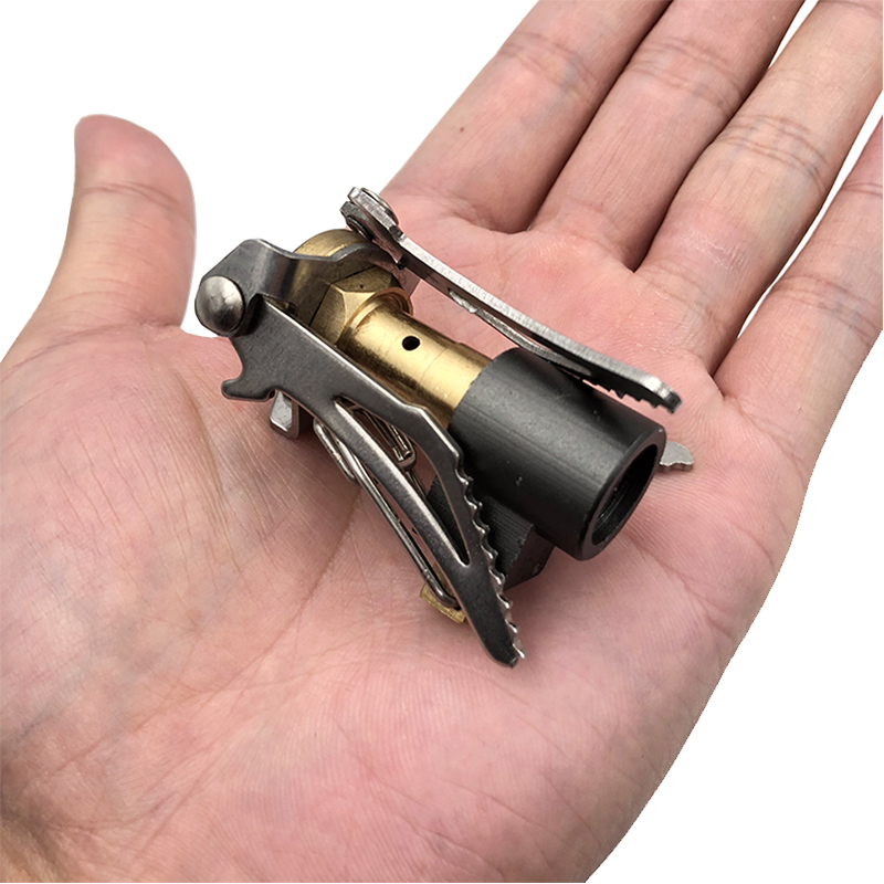 HEONYIRRY Outdoor Portable Folding Mini Camping Oven Gas Stove Survival Furnace Gas