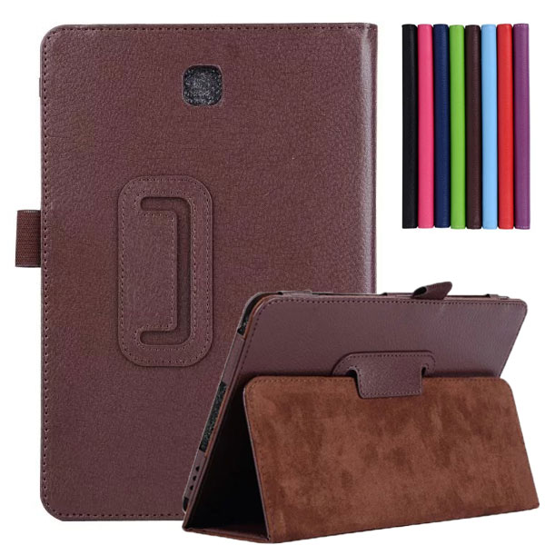 PU Leather Case Cover For Samsung Galaxy Tab A T350 Stand Cover Case For Samsung Galaxy Tab A 8.0 T350 T355 Tablet Leather Case