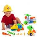 Пластиковые 3D DIY Съемные комбинация в сборе  ручная работа  инструмент для упражнений  обучающие игрушки для детей  От 3 до 6 лет