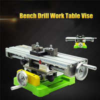 High Quality Premium Compound Cross Slide Working Table Adjustment X Y Milling Working Cross Table Bench Vise Drilling Table