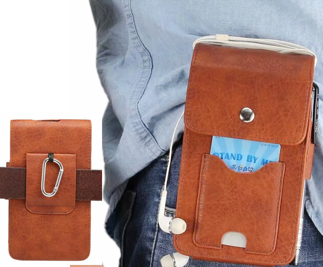 new style 57e3a e4c13 Holster Belt Clip Mobile Phone Leather Case Dual Pouch For Nokia Microsoft  Lumia 950 XL/640 XL,Ulefone Power 2/Gemini/Tiger-in Holsters & Clips from  ...