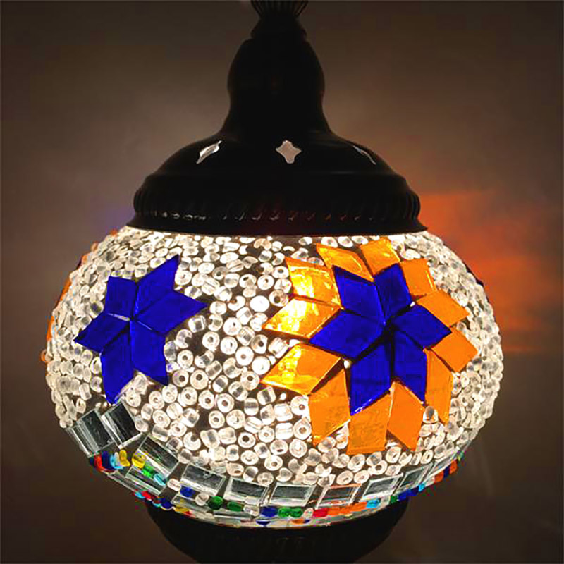 Artpad 20 Types Foreign National Characteristic Turkish Handmade Chandelier  Personality Pendant Led For Cafe Shopping Store Bar