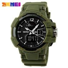 SKMEI Men Sports Watches Fashion Casual Watch Outdoor LED Digital Quartz Multifunction Waterproof Men's Military Wristwatches