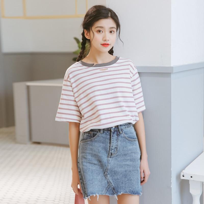 Buy Funny T Shirts Summer 2017 Ulzzang Harajuku Korean Style Women Top Spring
