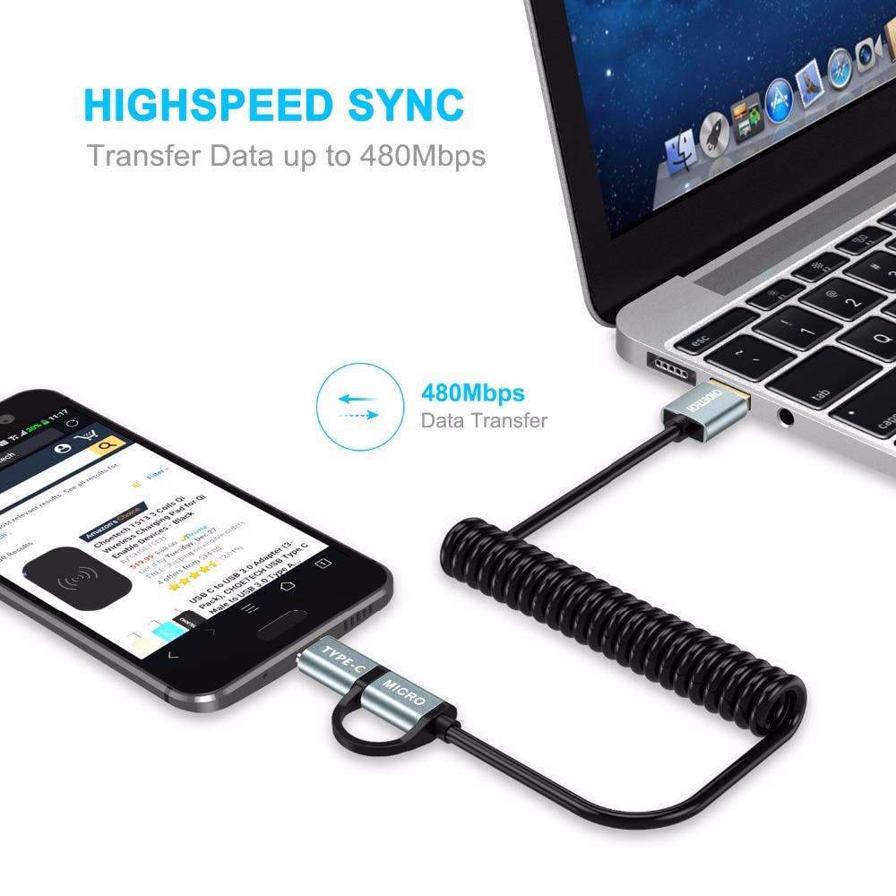 CHOETECH QC3.0 Καλώδιο USB τύπου C για Samsung Galaxy - Ανταλλακτικά και αξεσουάρ κινητών τηλεφώνων - Φωτογραφία 4