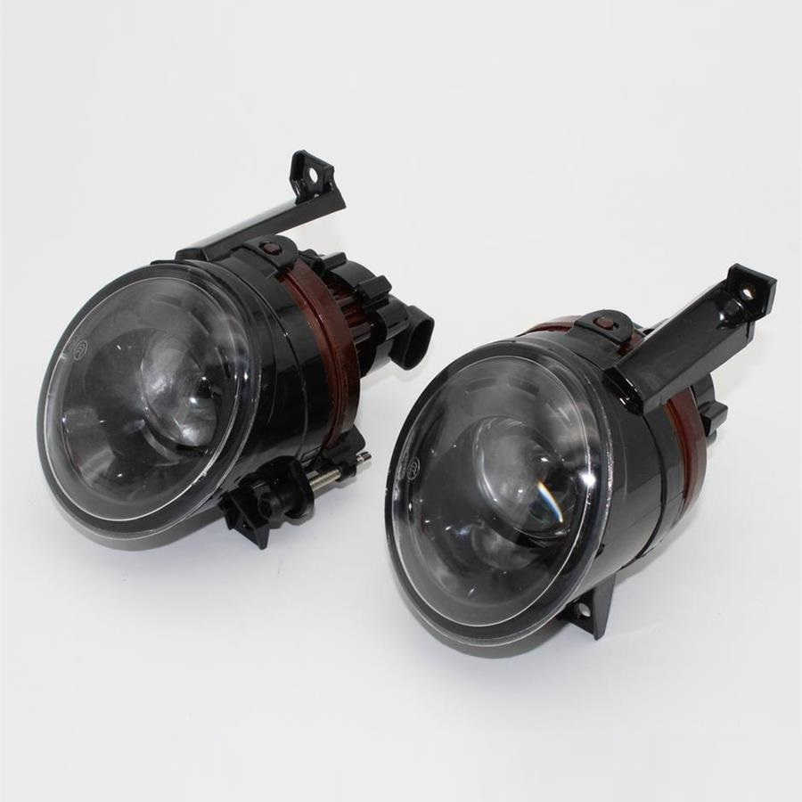 For VW EOS 2006 2007 2008 2009 2010 2011 Car-styling Front Bumper Halogen Fog Light Fog Lamp With Convex Lens front fog lights for nissan qashqai 2007 2008 2009 2010 2011 2012 2013 auto bumper lamp h11 halogen car styling light bulb