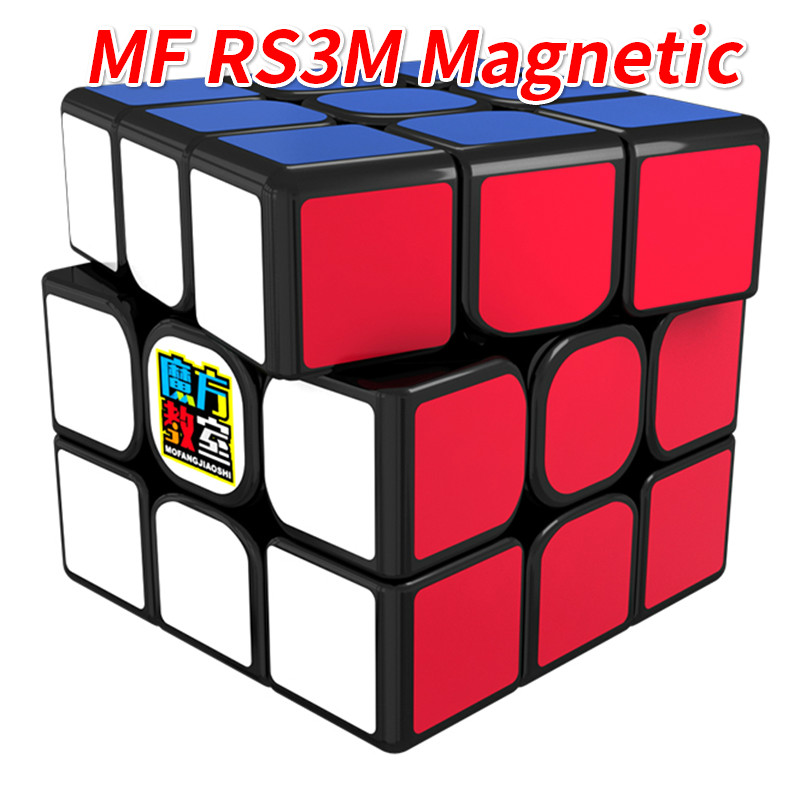 MoYu MF RS3M Magnetic 3x3x3 Cube Or MF3RS3 3x3 Not Magnetic Magico Cubes RS3 Cube 3Layer 3*3 Puzzle Cube Toys For Children