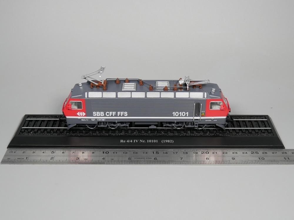 Ho scale model Atlas 1:87 Train Re 4/4 IV Nr 10101 1982 Diecast model Train