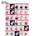 TKGOES 24 Pcs/set Pre Designed French Acrylic False Nail Full Tips Free Shipping Come With Glue Choose your Style