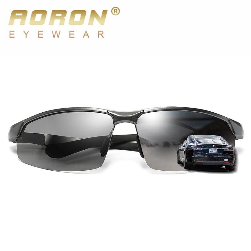 437b483a3a Comprar Aoron 2018 hombres gafas de sol polarizadas al aire libre deporte  gafas hombres polarizado gafas de marca de alta calidad, piloto, gafas 3121  Online ...