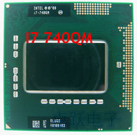 Original intel CPU laptop i7 740QM 6M Cache 1.73GHz i7 740QM SLBQG PGA988 45W Laptop Compatible PM55 HM57 HM55 QM57 CPUs Computer & Office -