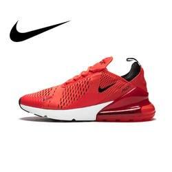 Nike Air Max 270 мужские кроссовки уличные спортивные дышащие на шнуровке прочные беговые кроссовки прогулочные дизайнерские спортивные AH8050