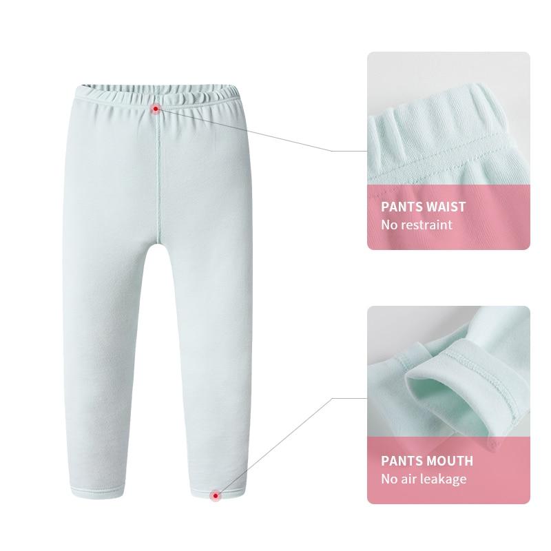 5a8d91ca Aliexpress.com : Buy Thermal Underwear Girls Boys Long Johns Soft Child  Cotton Winter Half High Collar Kids Underwear Children Clothes 3 14 Years  from ...