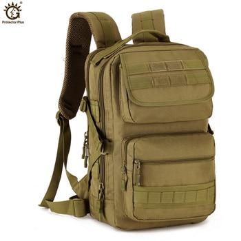 Mochila de viaje militar para hombre, mochila Táctica militar de 25L, para deportes al aire libre, Trekking, Camping, senderismo, resistente al agua