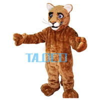 Pouco leopardo filhote cat panther cougar mascot costume adult size personagem de banda desenhada mascotte mascota outfit suit fancy dress