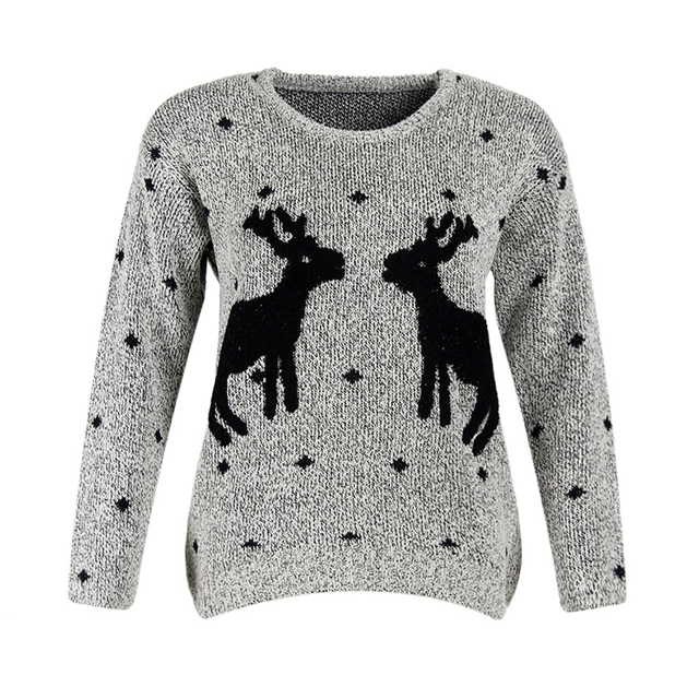 Amuybeen Christmas Knitted Sweater 2