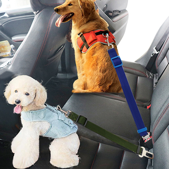 Adjustable Clip Lead Leash Vehicle Seatbelt  1