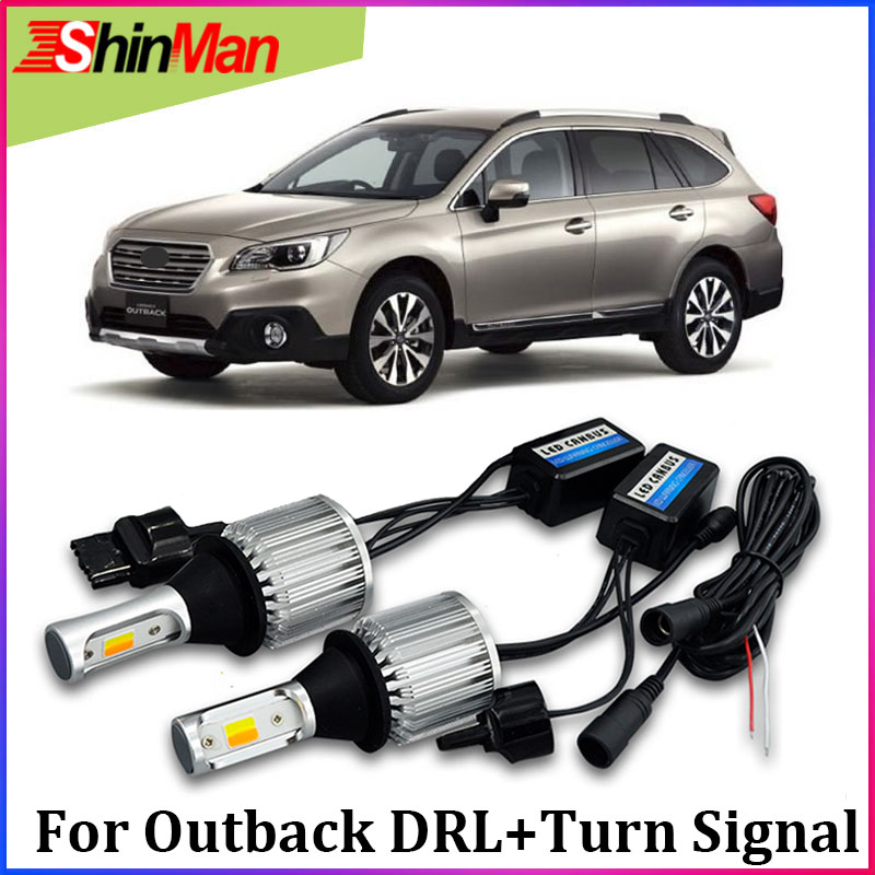 ShinMan WY21W 7440 T20 led CAR COB daytime running lights led daylight DRL Turn light Turn