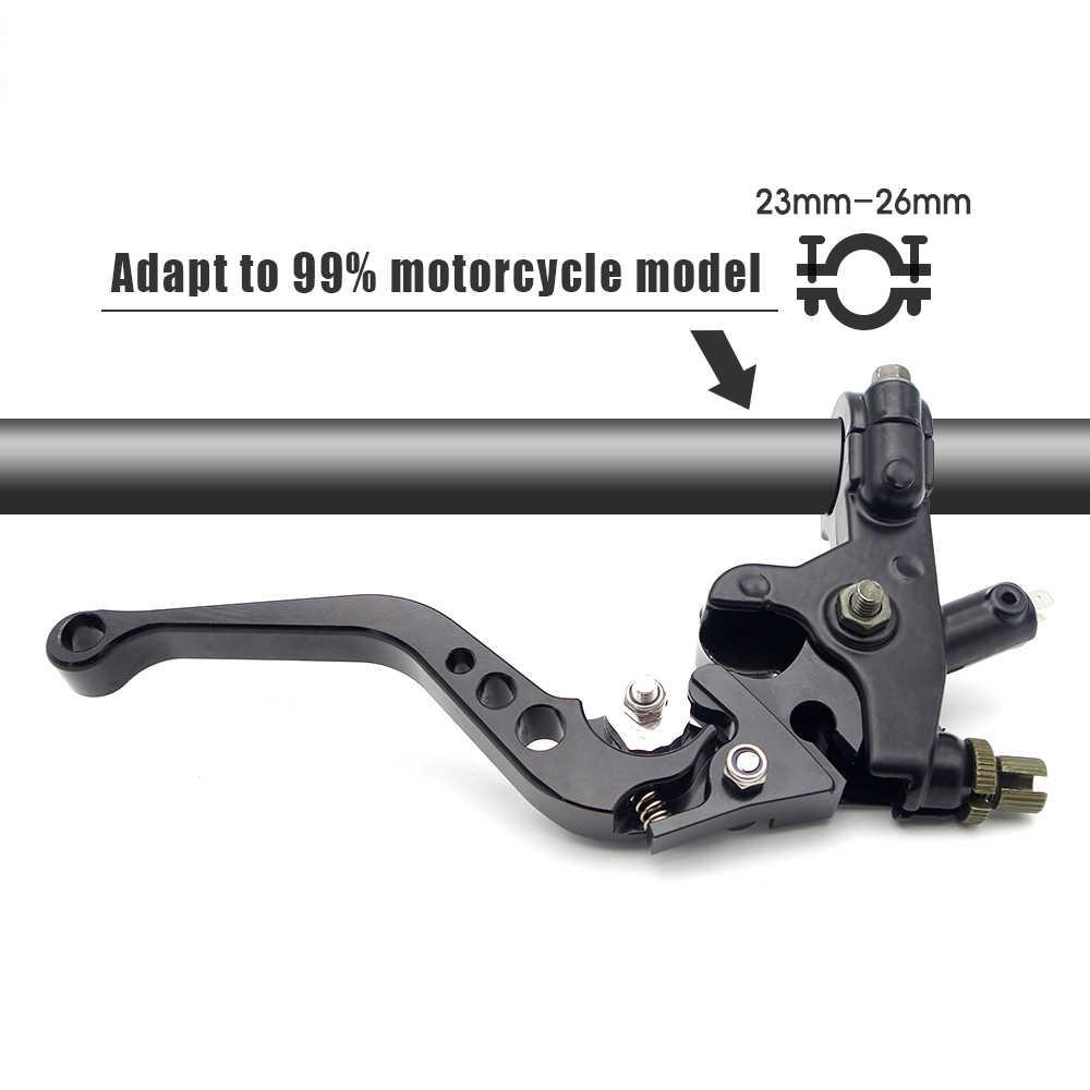CNC moto rcycle دواسة فرامل رافعة أسطوانة رئيسية مضخة ل honda فرس cf moto 500 burgman 125 بولسار ns 200 # EB005