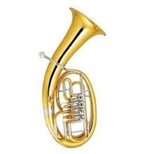 4 клапана euphonium Желтая латунь euphonium рога с Foambody чехол и мундштук профессиональные музыкальные инструменты