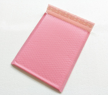 Free Shipping Light pink Poly bubble Mailer envelopes padded Mailing Bag Self Sealing 25*30+4cm 20pcs/lot