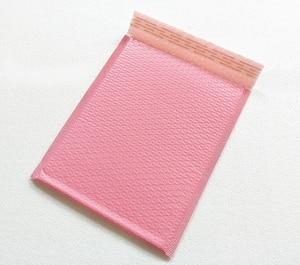 Image 1 - Free Shipping Light pink Poly bubble Mailer envelopes padded Mailing Bag Self Sealing 25*30+4cm 20pcs/lot