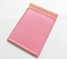 จัดส่งฟรี Light PINK POLY Bubble Mailer envelopes padded Mailing กระเป๋าปิดผนึกด้วยตนเอง 25*30 + 4 ซม.20 ชิ้น/ล็อต