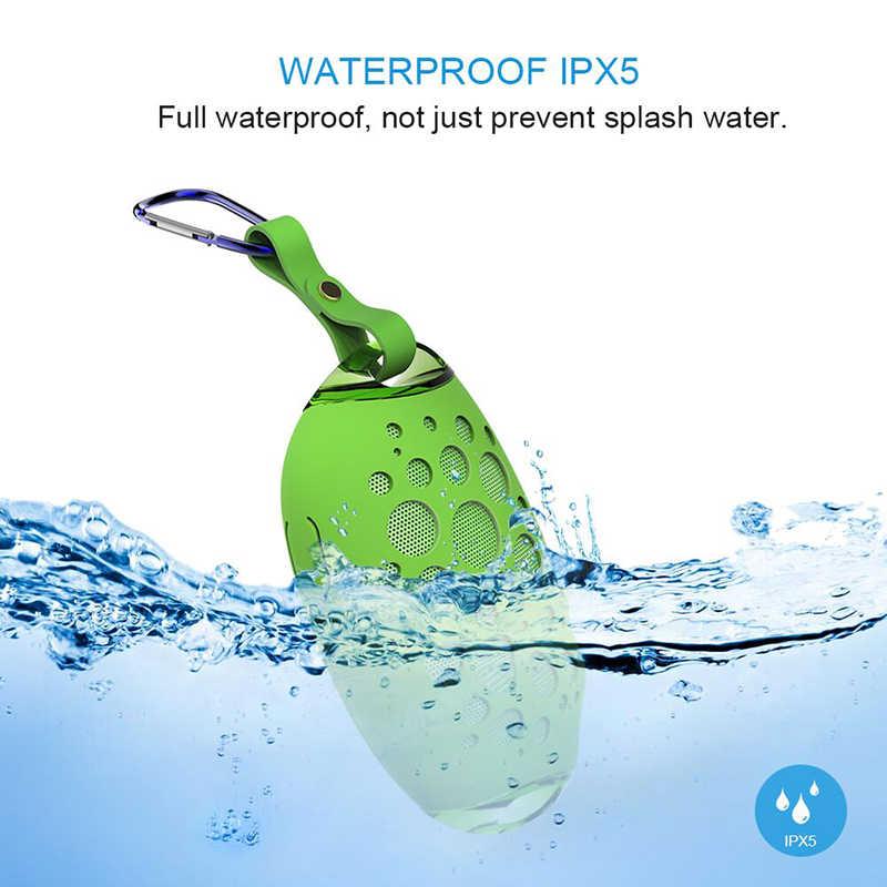 ワイヤレススピーカーミニ MG X1 屋外ステレオスピーカーマイクフック無料ハンズサポート IP54 ポータブル防水水