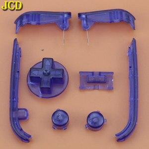 Image 4 - JCD أزرار متعددة الألوان لوحات المفاتيح L R A B أزرار ل Gameboy مسبقا أزرار الإطار ل GBA D منصات السلطة على قبالة أزرار