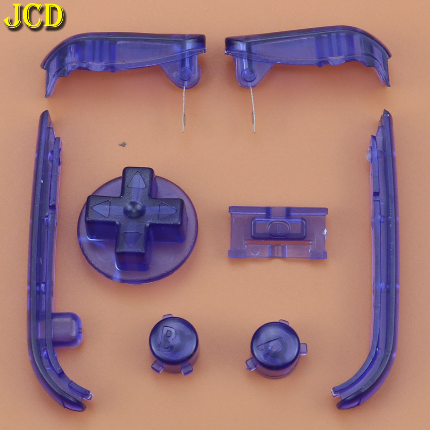 Image 4 - JCD Multi Color Buttons Keypads L R A B Buttons For Gameboy Advance Buttons Frame For GBA D Pads Power ON OFF Buttons-in Replacement Parts & Accessories from Consumer Electronics