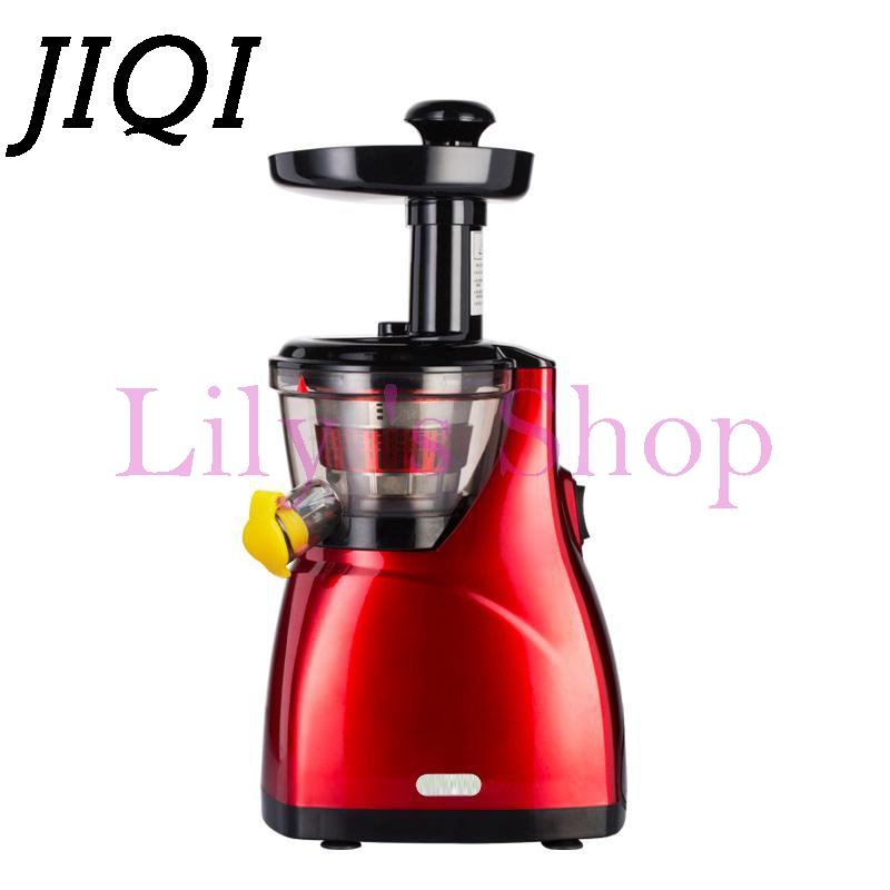 Fruits Vegetable Press juicer Low Speed blender Citrus orange Juice Slow Extractor lemon squeezer 100% Original 160W US EU Plug  slow juicer fruit vegetable citrus low speed juice extractor squeezer soymilk higher juice rate