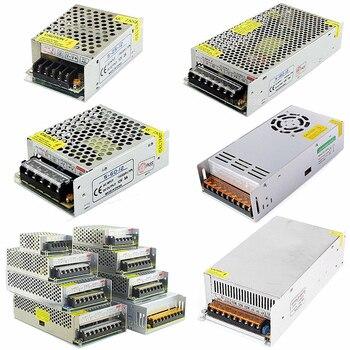 цена на DC 12V power Supply Adapter 2A 3A 5A 8A 10A 15A 20A 30A 40A power Driver transformer AC 110v 220v to 12V for LED light strip bar