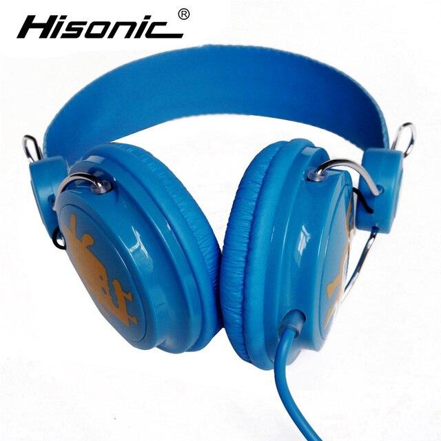 Hisonic headphones stereo game Headphone On ear headphones DJ middle ...