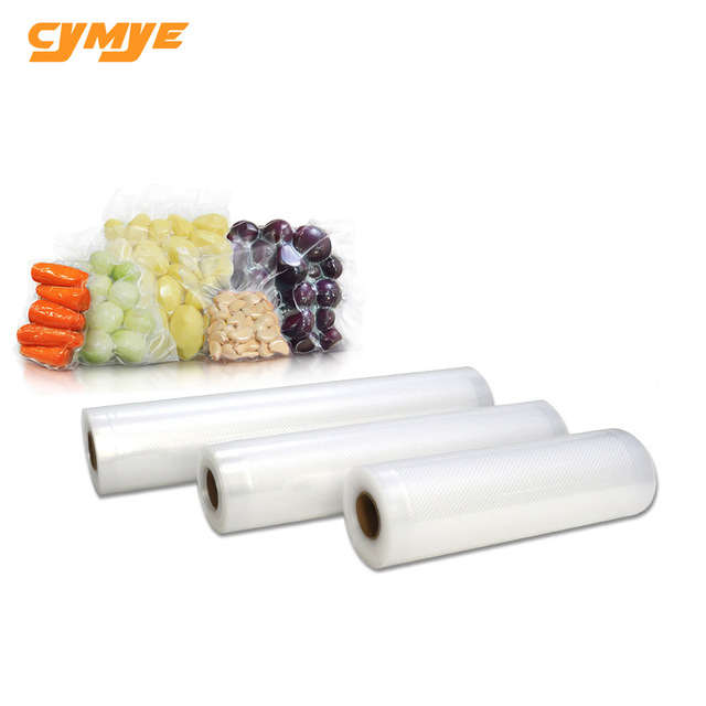 Cymye 1 Roll Hight quality Vacuum Sealer Food Saver Bag for Kitchen Vacuum Storage Bags