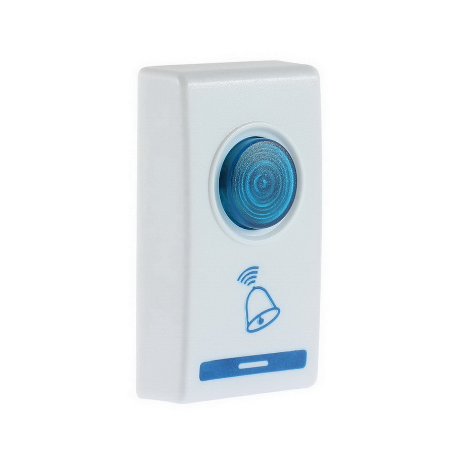 1 pcs LED Wireless Chime Door Bell Doorbell Wireles Remote control 32 Tune Songs Drop Shipping