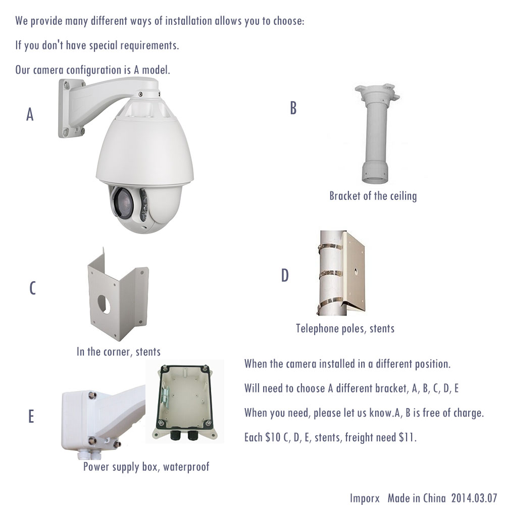 medium resolution of 20x optical zoom wireless high speed dome camera outdoor ptz ip wifi network camera audio alarm can send from eu in surveillance cameras from security